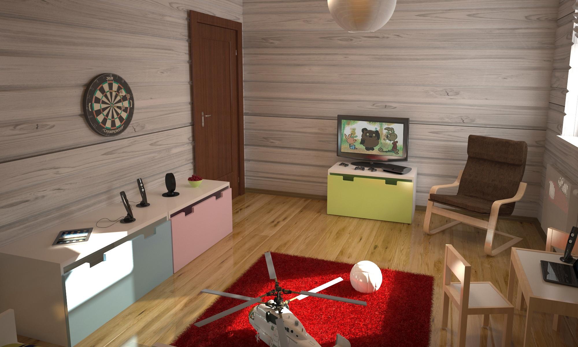 Интерьер загородного дома(6)