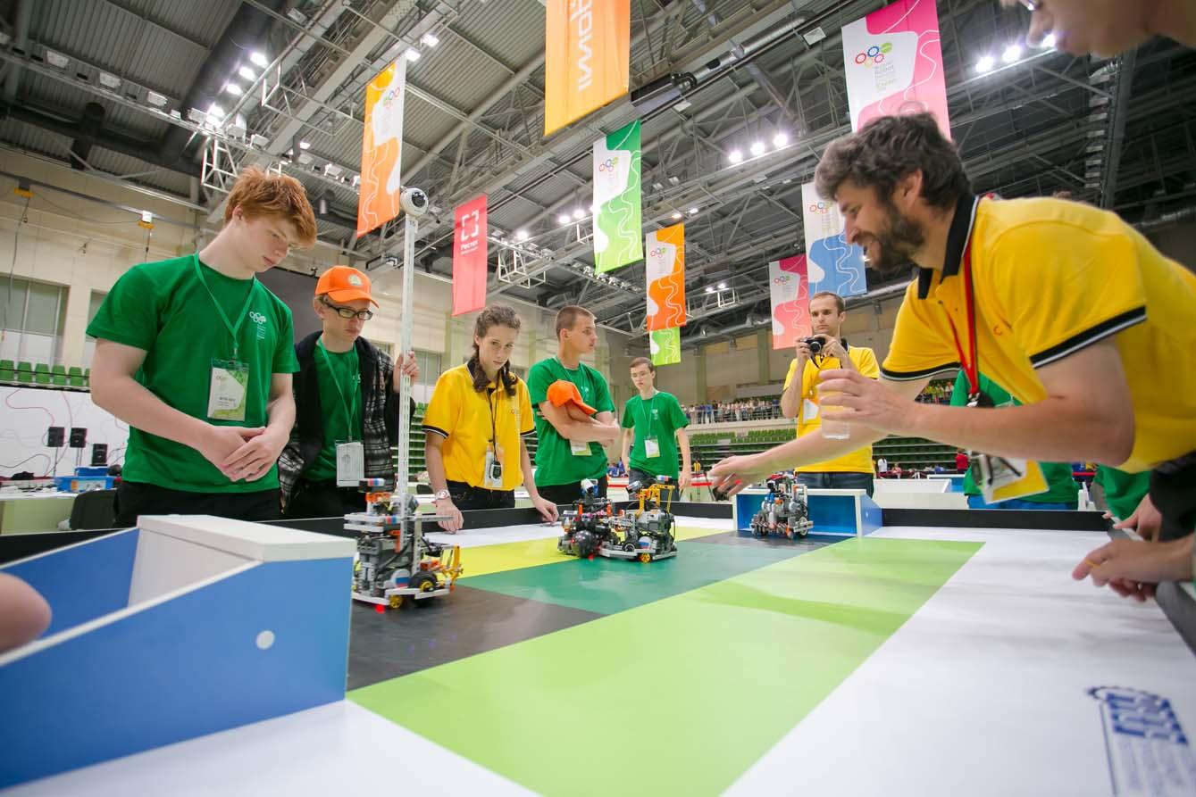 Олимпиада Робототехника(7)
